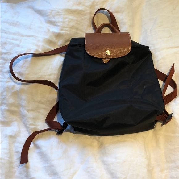 Longchamp Handbags - longchamp le pliage sac a dos modele depose black 39df78e8795